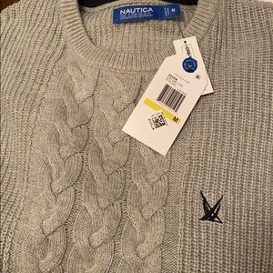 Men náutica sweater brand new with tags size M
